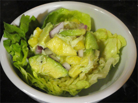 Avocado &#038; Crab Salad